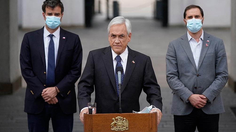 """""""Enfrentar mejor el terrorismo"""" fue una de las fundamentaciones de Piñera para justificar la medida."""