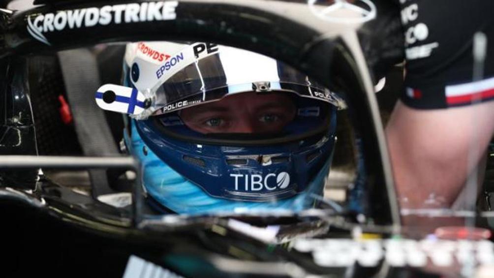 Su compañero de escudería y actual líder del Mundial de Fórmula 1, el inglés Lewis Hamilton, será undécimo en la parrilla