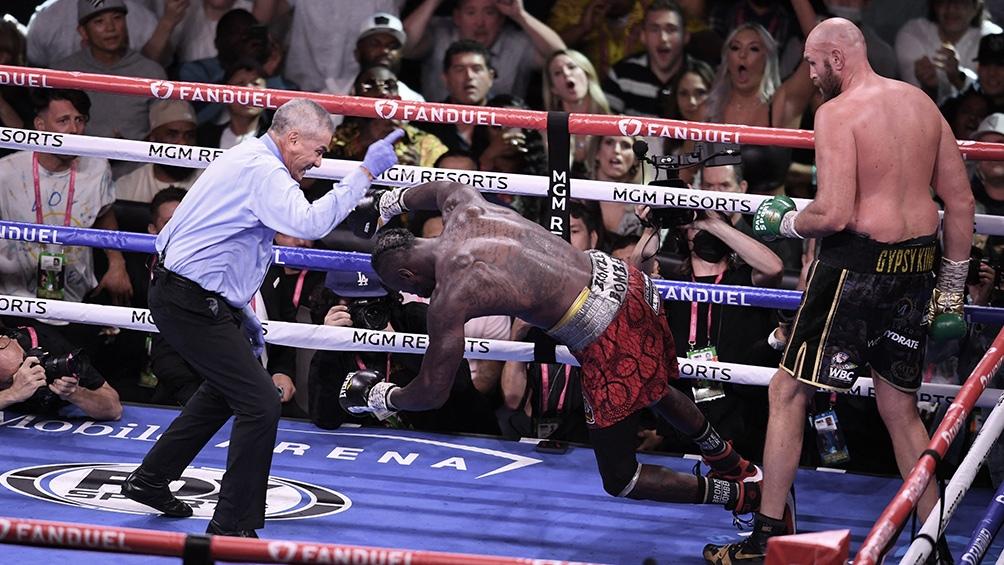 Fury retuvo el título de los pesados del Consejo con un KO ante Wilder