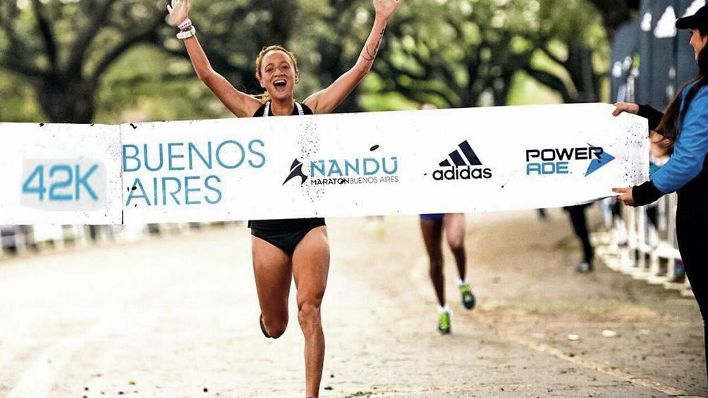 La argentina Florencia Borelli, también de Mar del Plata, le devolvió el triunfo al país en la rama femenina.
