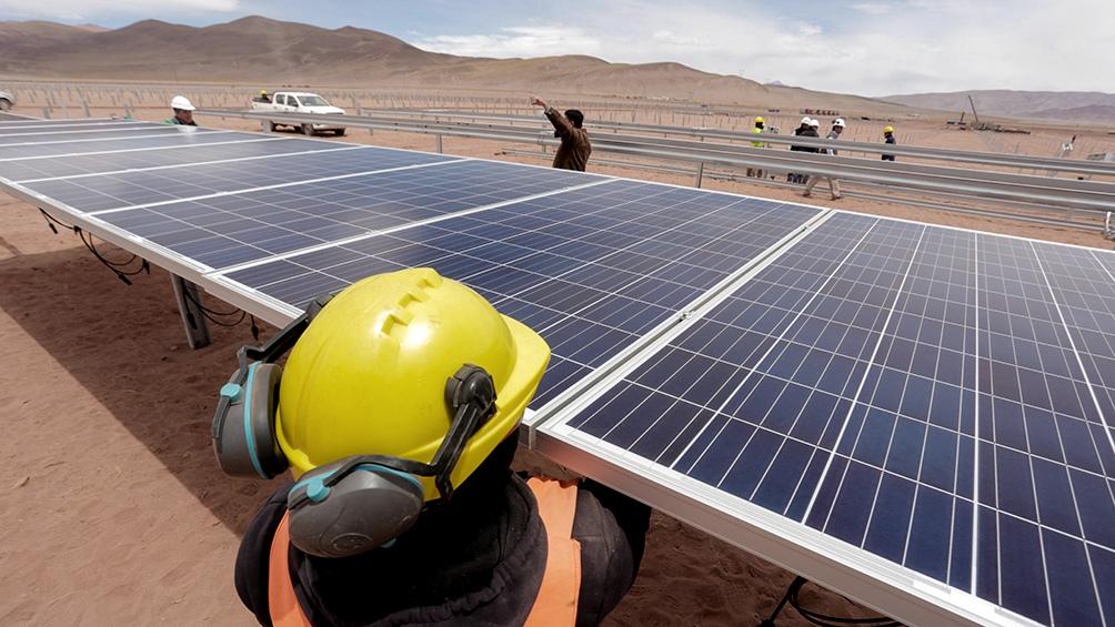 El parque fotovoltaico Cauchari, en Jujuy, inyecta 315 Mw de potencia a la red nacional desde que se concretó su habilitación comercial hace un año.