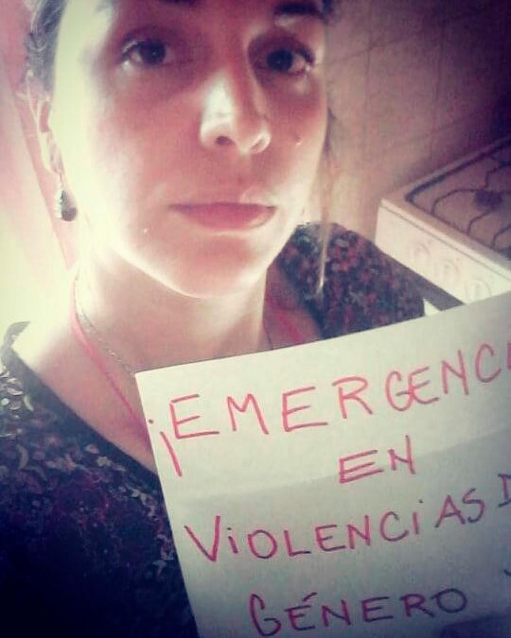 Florencia era una militante del PC y de las causa de género, muy querida en su ciudad.  (Foto: FB María Florencia Gómez Pouillastrou)