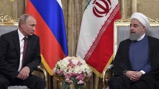 Irán anunció un futuro acuerdo de asociación estratégica con Rusia