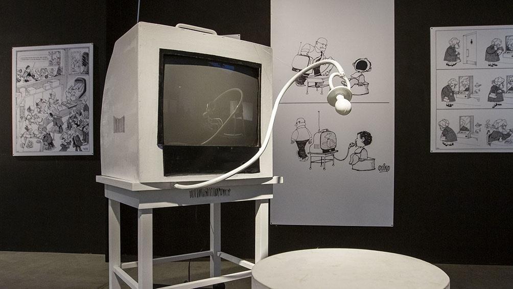 Una muestra que se acaba de inaugurar en Tecnópolis para homenajear al célebre dibujante a un año de su muerte.