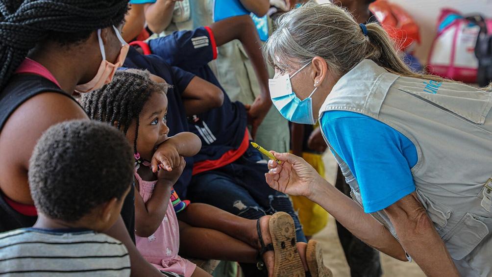 Unicef también advirtió sobre un aumento de los niños que cruzan solos el Darién. En 2020 ocho niños eran no acompañados, en 2021 fueron 153. (Foto: Unicef/Moreno González)