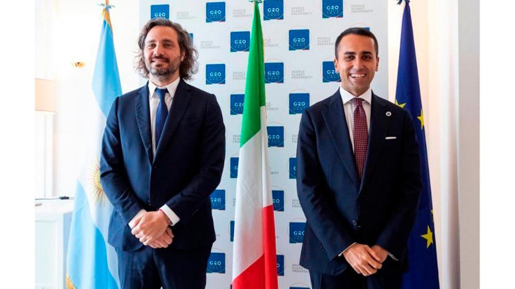 La Cancillería italiana manifestó su apoyo en la negociación argentina de la deuda