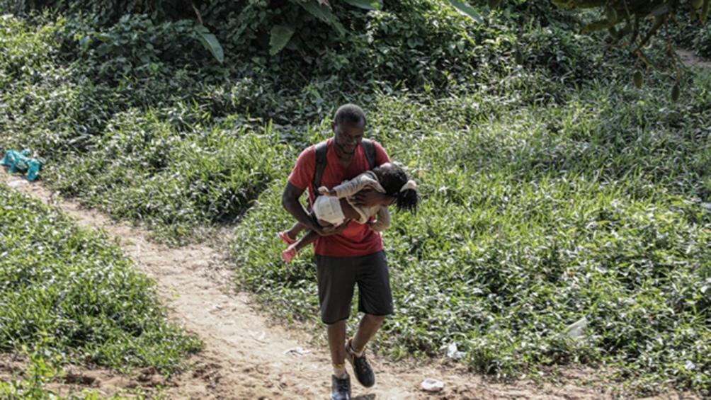 Unicef estima que la mitad de los 19 mil niños que cruzaron la selva son menores de 5 años. (Foto: Unicef/Moreno González)