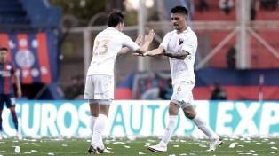 Colón venció como visitante a San Lorenzo en partido por la decimoquinta fecha