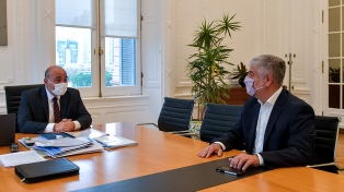 """Manzur analizó con el nuevo secretario de Comercio Interior """"los desafíos de su gestión"""""""