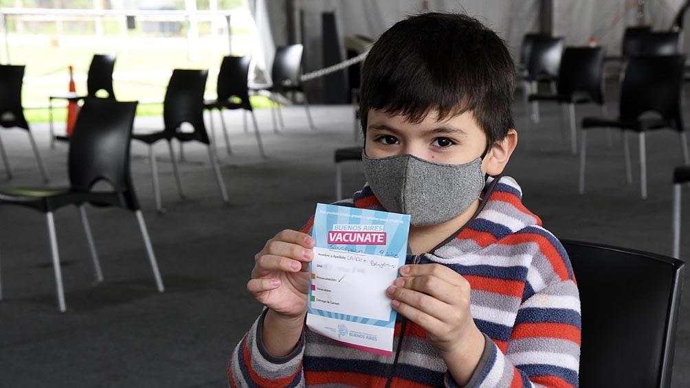 """Tabacco explicó que """"aprovechar la vacunación escolar tiene múltiples ventajas operativamente"""". Foto: Leo Vaca."""