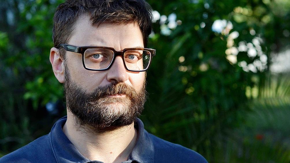"""Federico Falco, finalista con """"Los llanos""""."""