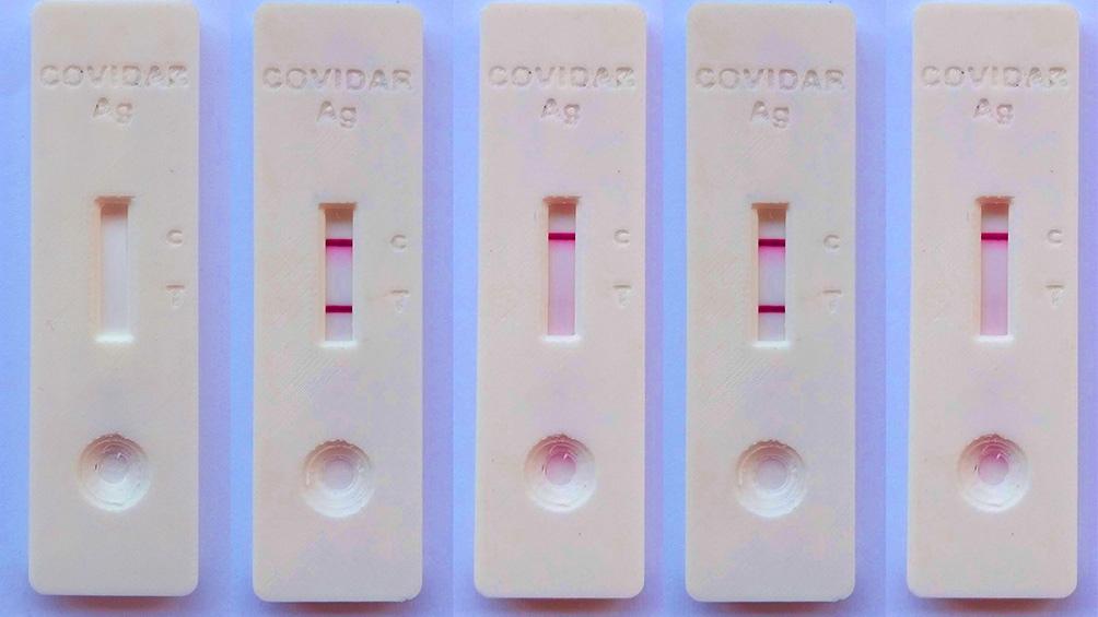 El Covidar-Ag detecta en la muestra la presencia de una proteína interna del virus llamada Nucleocápside a través de anticuerpos.