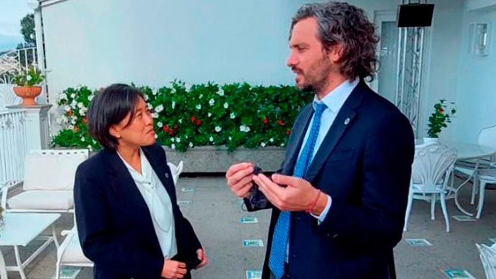 CUMBRE DE MINISTROS DEL G20: Cafiero trabaja en reforzar la relación comercial con Estados Unidos y España