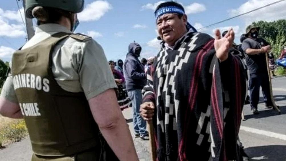 El conflicto entre los pueblos originarios y el Estado se internsificó luego de múltiples hechos de violencia entre miembros de la comunidad mapuche y efectivos de Carabineros.