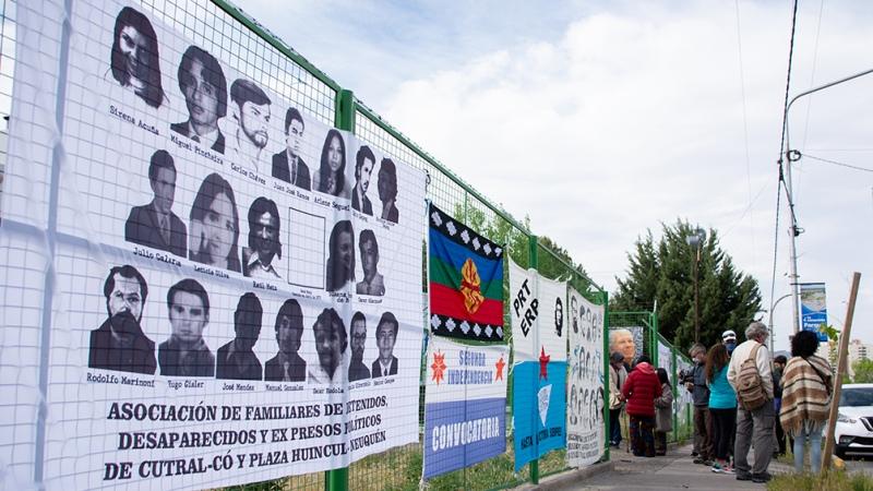 """Finalizó en Neuquén la segunda jornada de alegatos en el juicio """"Escuelita VII"""""""