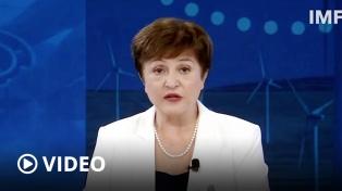 """Georgieva afirmó que el FMI trabaja con la Argentina en un acuerdo """"creíble y útil"""""""