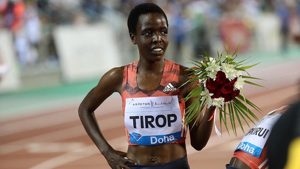 """""""Kenia ha perdido a un diamante, una de las atletas de mayor y más rápido crecimiento en la escena internacional gracias a sus notables prestaciones en pista"""", informó la federación nacional de atletismo (Foto archivo AFP)"""