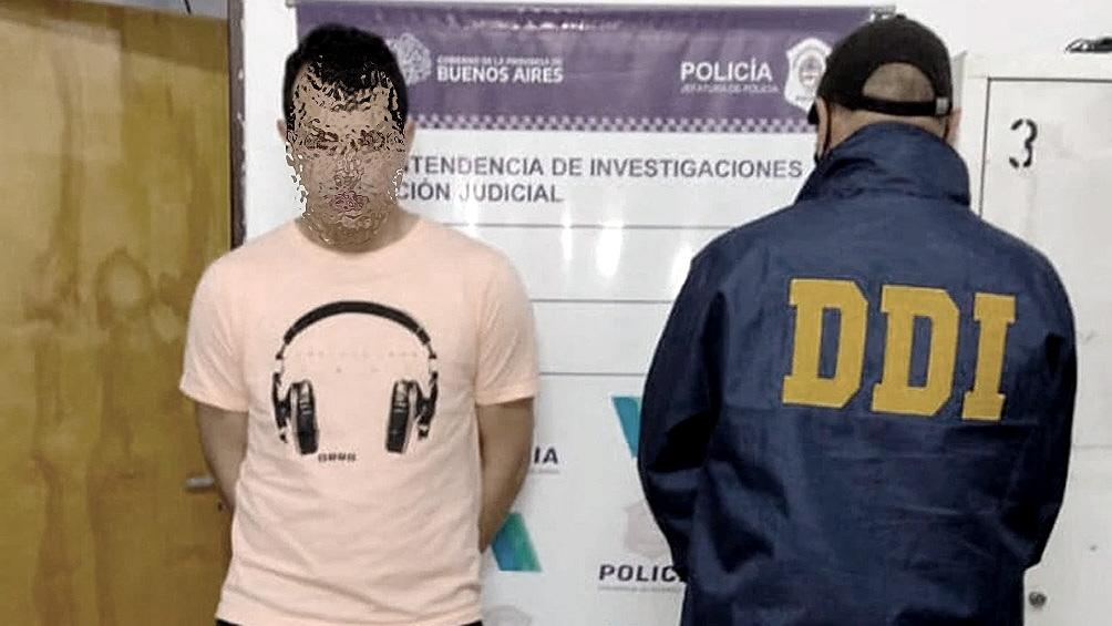 Gustavo Alejandro Arbelo fue detenido después de haber confesado el crimen