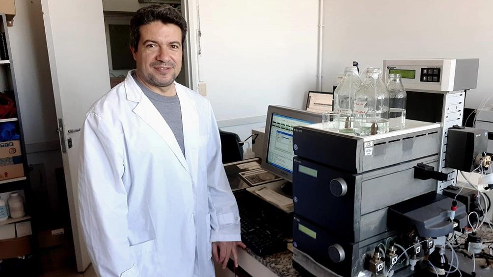 Leonardo Alonso, líder del avance e investigador del Instituto de Nanobiotecnología, que depende del CONICET y la UBA.