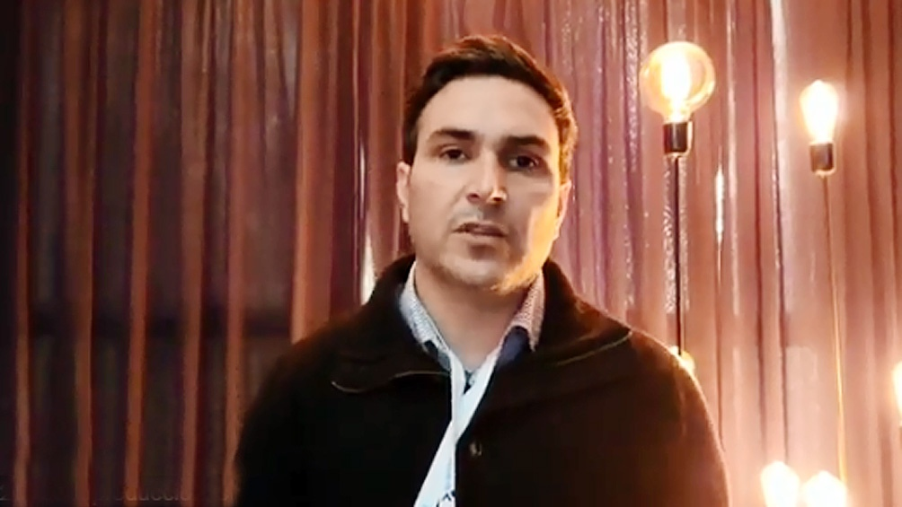 Gildo Onorato, secretario gremial de la Unión de Trabajadores de la Economía Popular (UTEP) y dirigente del Movimiento Evita.