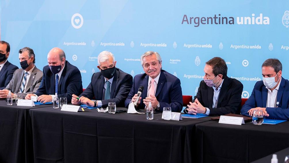CASA ROSADA: Alberto Fernández pidió «no profundizar en las diferencias sino en lo que hay acuerdo»