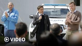 Axel Kicillof anunció un aumento salarial a personal policial y del Servicio Penitenciario