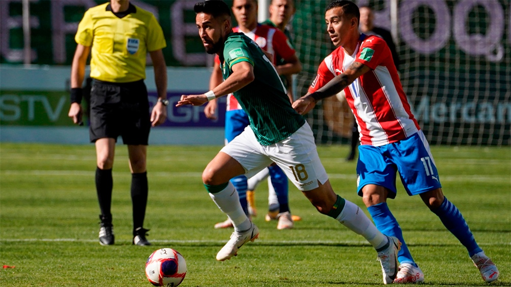 Bolivia recibe a Paraguay, en uno de los duelos de la jornada por Eliminatorias mundialistas. Foto: @Conmebol