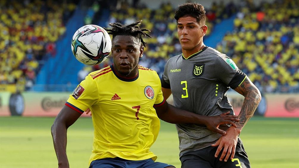 Ecuador y Colombia, un duelo intenso y clave en sus aspiraciones para escalar posiciones en las Eliminatorias. Foto: @Conmebol