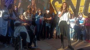 """Tolosa Paz pidió """"derechos e igual salario"""" en acto de mujeres sindicalistas"""