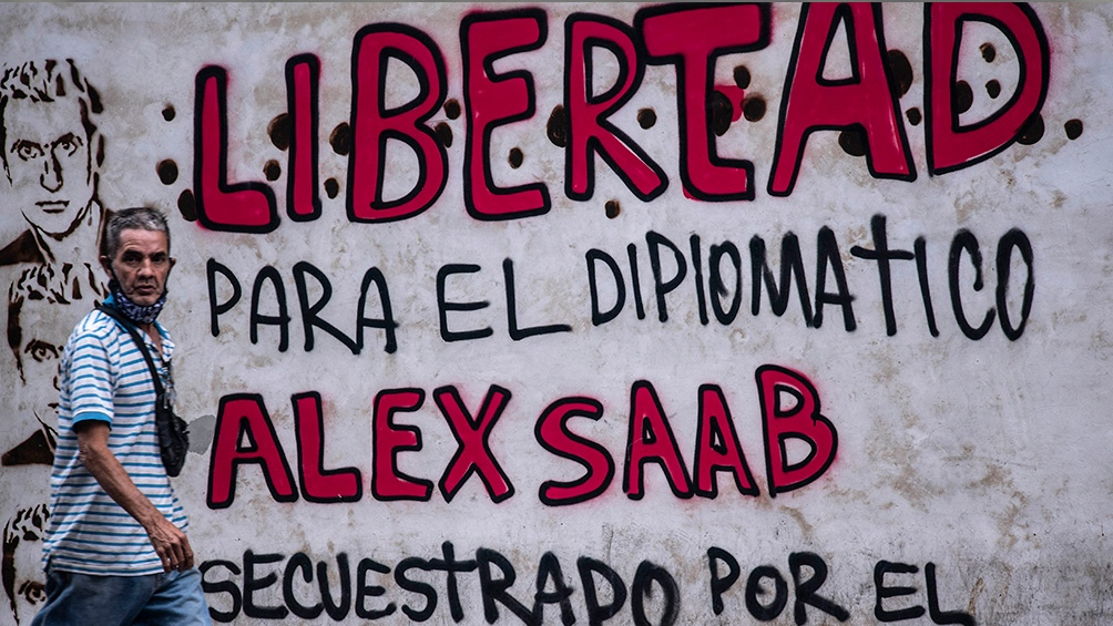 Primera presentación ante la Justicia estadounidense de Álex Saab