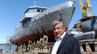 """Wasiejko: """"hay sectores a los que no les interesa que el país tenga industria naval"""""""