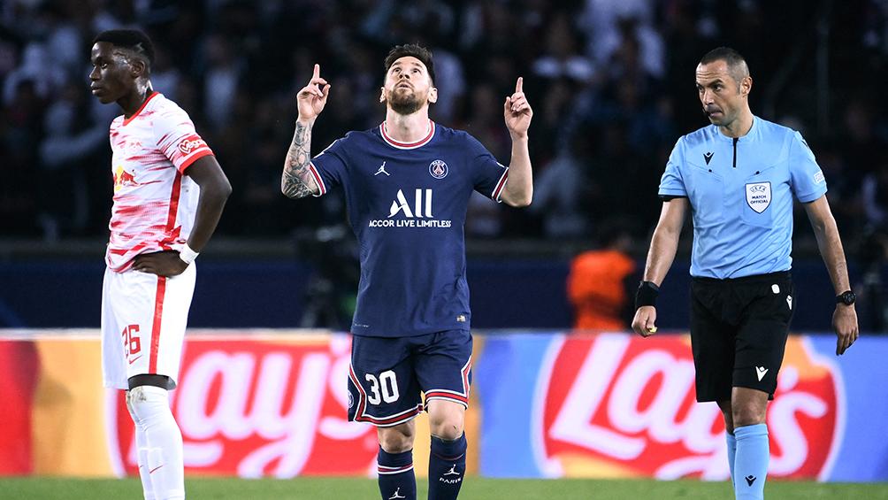 ¡Se puso nervioso!: la tremenda definición de Messi en el penal ante Leipzig