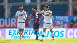 San Lorenzo perdió con Lanús y los hinchas explotaron contra la dirigencia y Montero