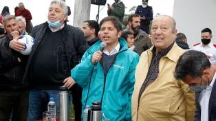 """Kicillof: """"Con un Estado presente vamos a reconstruir la provincia"""""""