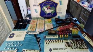 Once detenidos por narcomenudeo, que tenían de pantalla un kiosco en Merlo