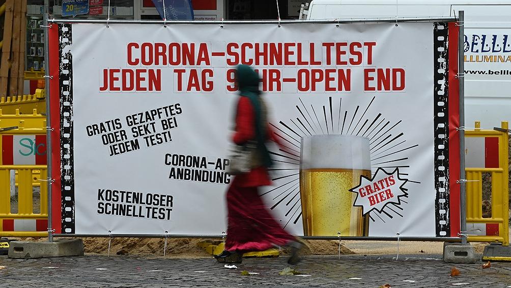 Alemania registra la tasa de incidencia del coronavirus más alta desde mayo