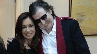 """Cristina saludó a Charly: """"Sus canciones forman parte de nuestras vidas"""""""