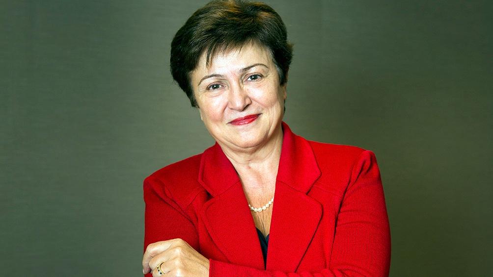 Kristalina Georgieva, fue confirmada en el directorio del FMI.