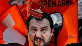 Empezó el juicio contra el exministro Salvini por bloquear el desembarco de migrantes