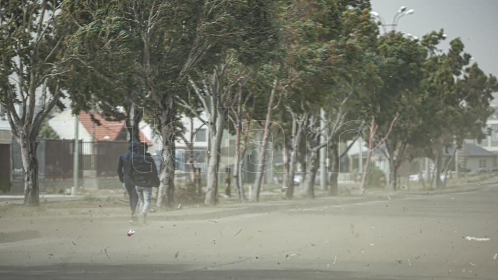Vientos con ráfagas de hasta 90 kilómetros por hora en Chubut