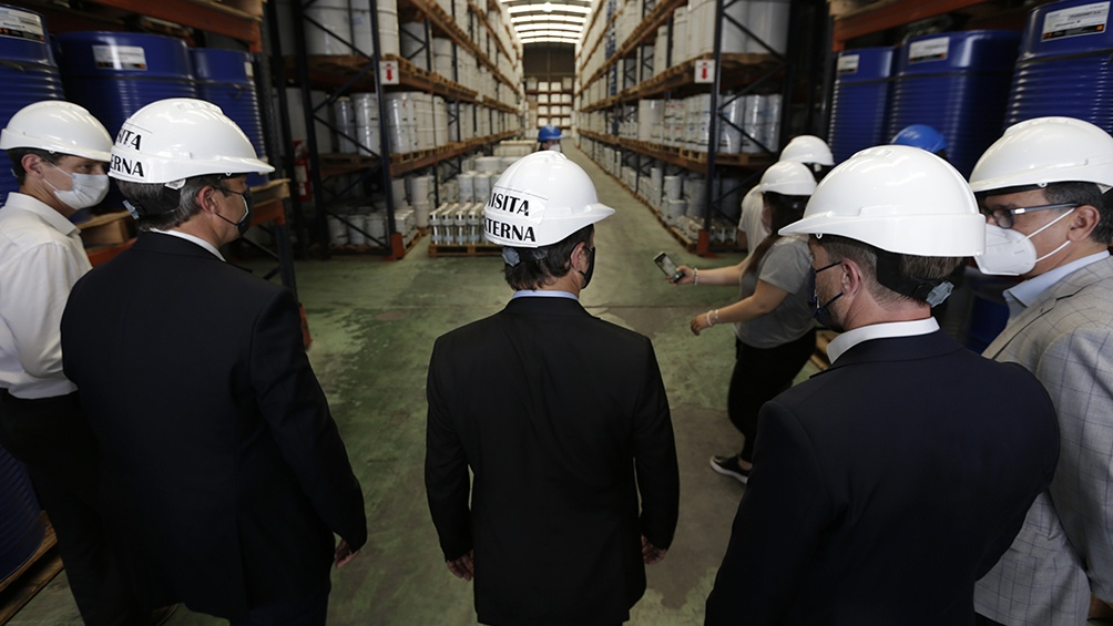 """Kicillof: """"Las pymes son las que más fomentan la inversión en el país"""""""