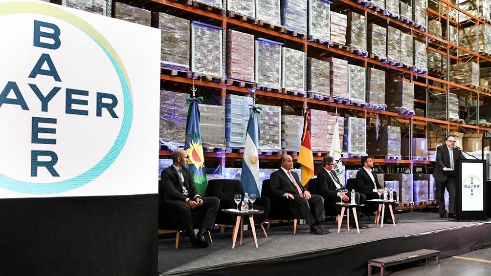 Bayer anunció inversiones en la Argentina por US$ 156,4 millones