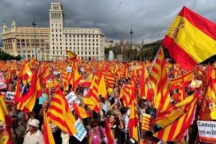 La izquierda, dividida por el referéndum secesionista catalán