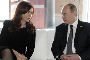Putin ya está en Buenos Aires a la espera del encuentro con Cristina