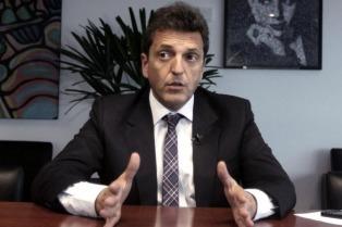 """Massa: avanza confección del """"dictamen común"""" en Diputados que será puesto a votación en horas de la madrugada"""