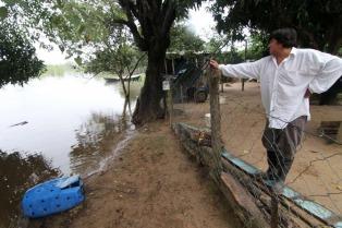 Más de 4.600 personas continúan afectadas por las inundaciones en Chaco