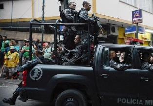 Unos 9.000 militares patrullan las calles de Río ante posibles motines y protestas