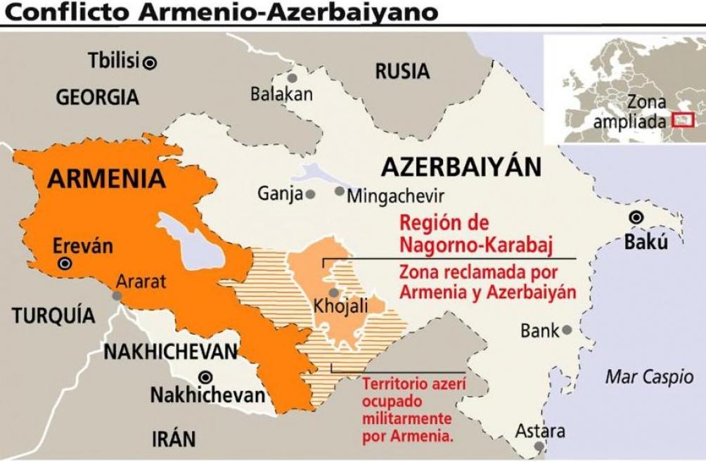 Nagorno Karabaj: el germen de las recurrentes guerras entre Armenia y Azerbaiyán