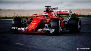 Raikkonen mejoró el tiempo de Hamilton en los entrenamientos