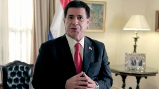 Ex presidente Cartes vuelve a la mira de un juez brasileño por un caso de lavado de dinero
